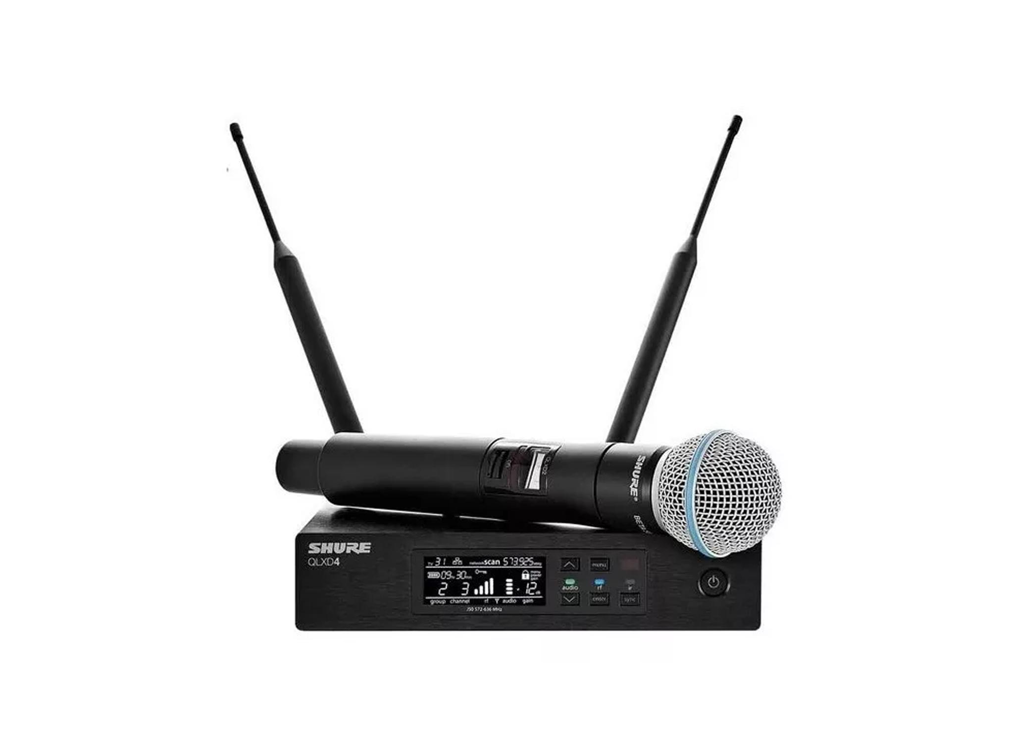 Microfone de mão sem fio | Shure e AKG